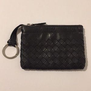 Bottega Veneta Leather Change Purse/Keyring!!